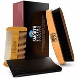 smooth-viking-boar-bristle-beard-brush-&-wooden-grooming-comb